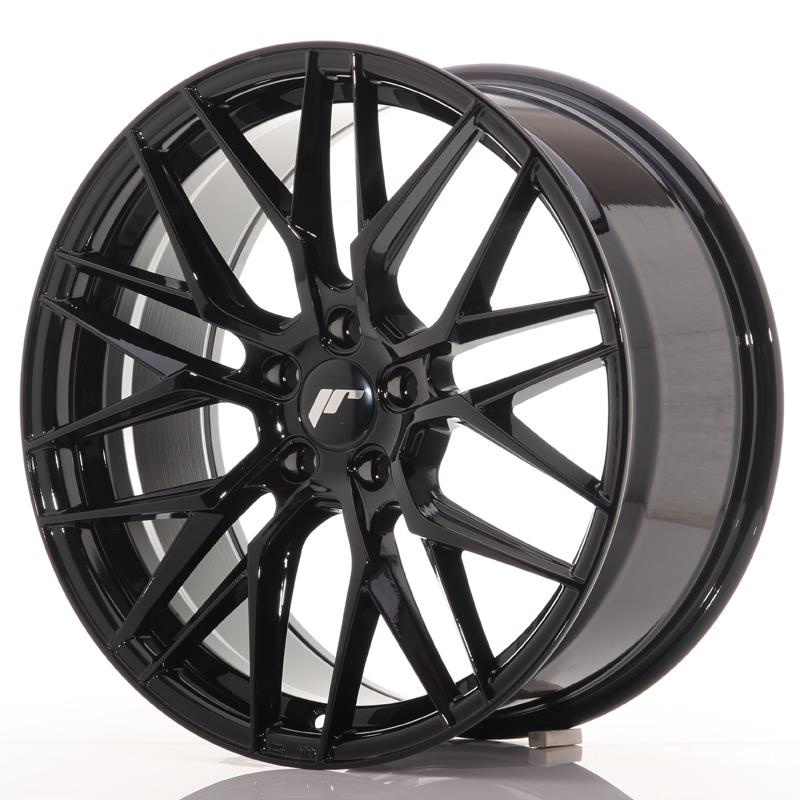 "Japan Racing JR Wheels JR28 19x8.5"" ET40 5x112 Black"