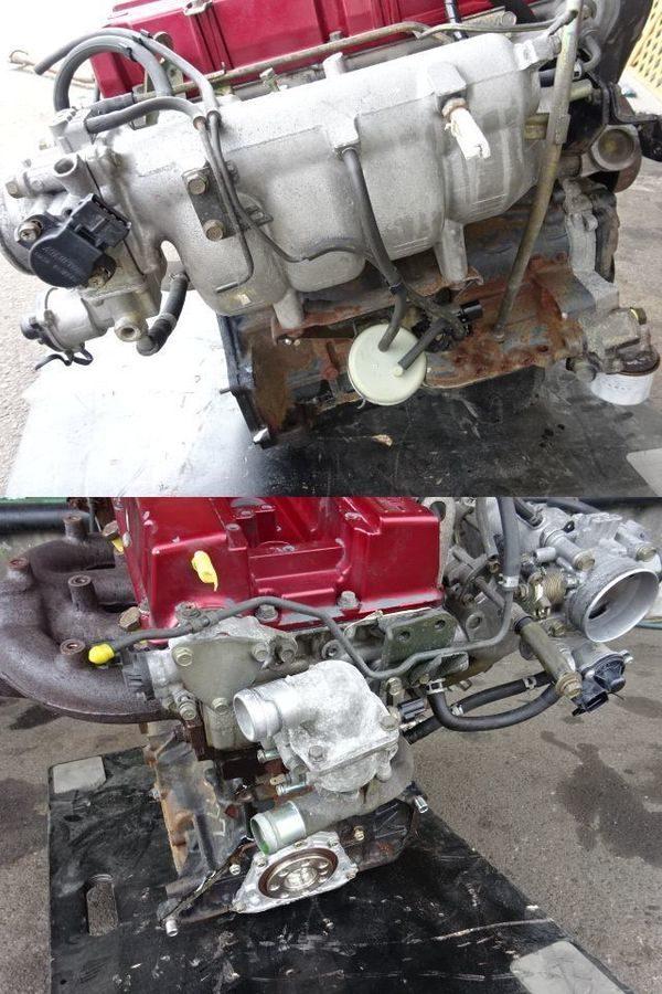 MITSUBISHI LANCER EVO 7 RS CT9A 4G63 ENGINE