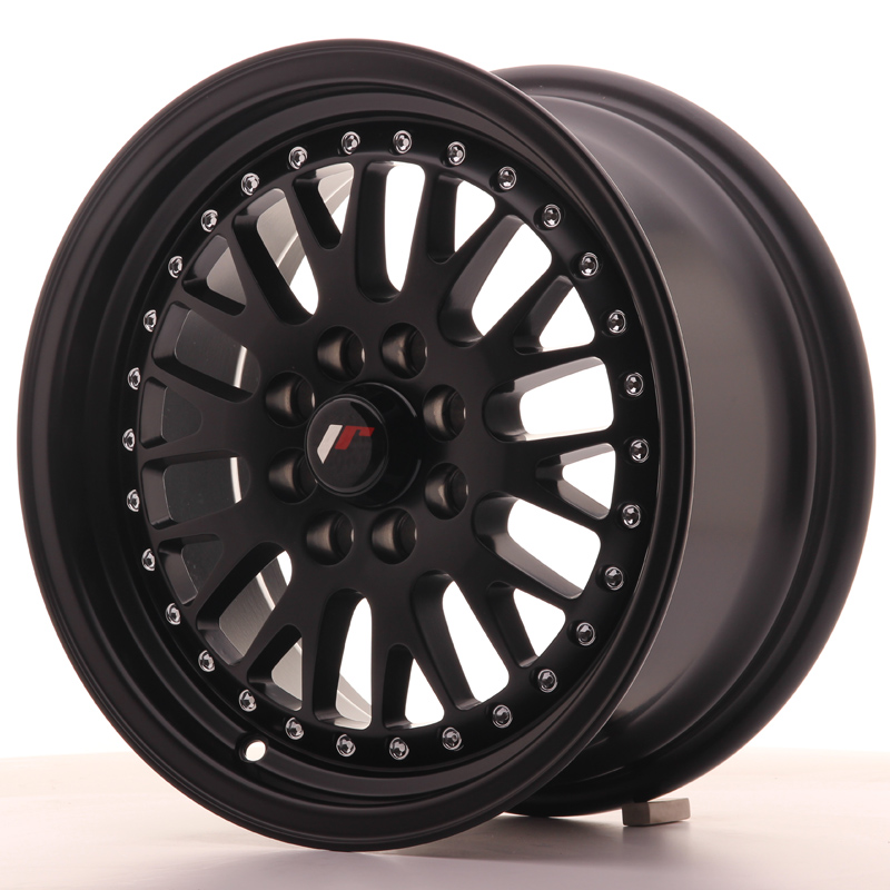 Japan Racing JR Wheels JR10 15x7 ET30 4x108 4x100 Black