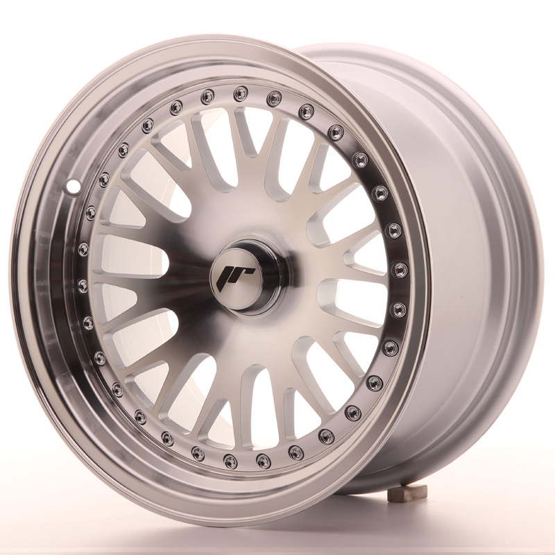 Japan Racing JR Wheels JR10 15x8 ET20 CUSTOM PCD Silver Machined Face