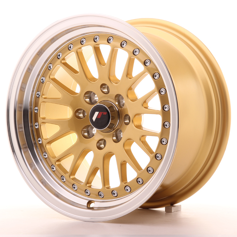 Japan Racing JR Wheels JR10 15x8 ET20 4x100 4x108 Gold