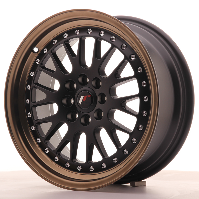 Japan Racing JR Wheels JR10 16x7 ET30 4x108 4x100 Black