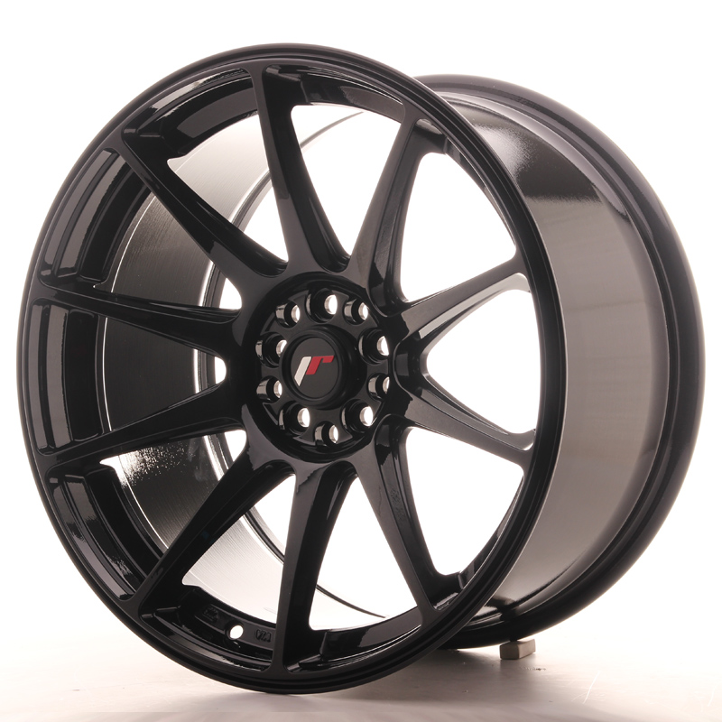 Japan Racing JR Wheels JR11 18x9.5 ET22 5x120 5x114.3 Black