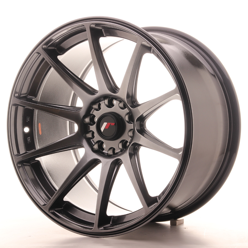 Japan Racing JR Wheels JR11 18x9.5 ET30 5x114.3 5x112 Hiper Black