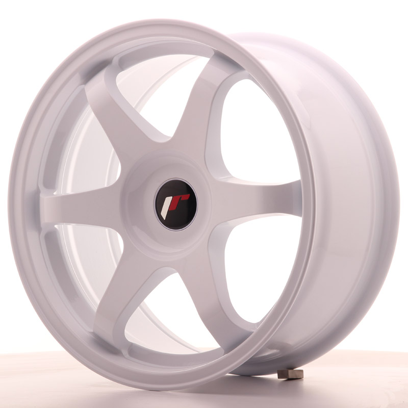 Japan Racing JR Wheels JR3 17x8 ET35 CUSTOM PCD White