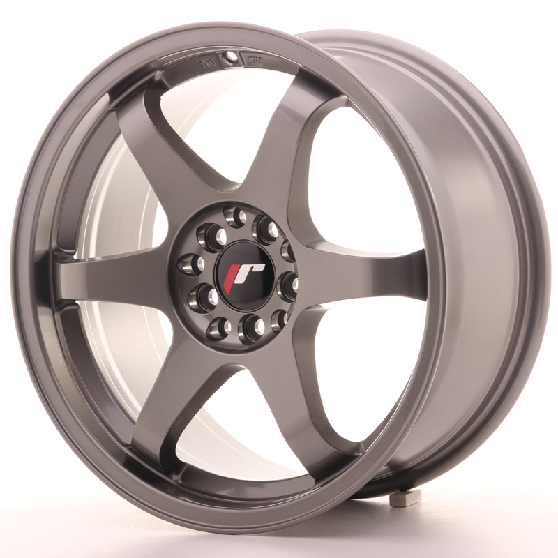 Japan Racing JR Wheels JR3 17x8 ET25 4x108 4x100 Gun metal