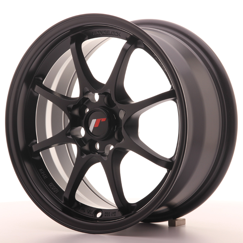 Japan Racing JR Wheels JR5 15x7 ET35 4x100 Black