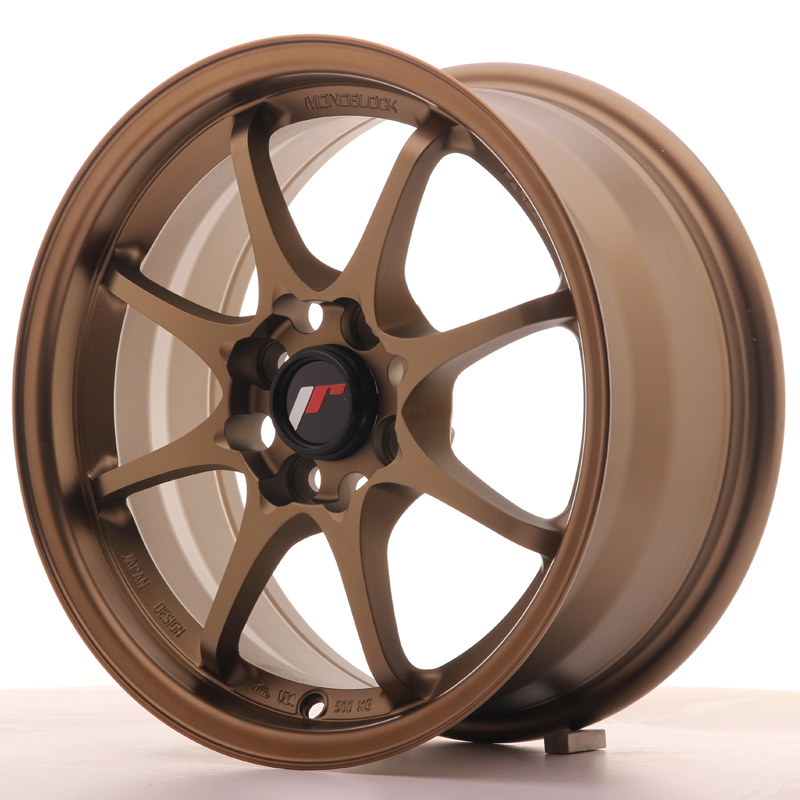 Japan Racing JR Wheels JR5 15x7 ET35 4x100 Bronze