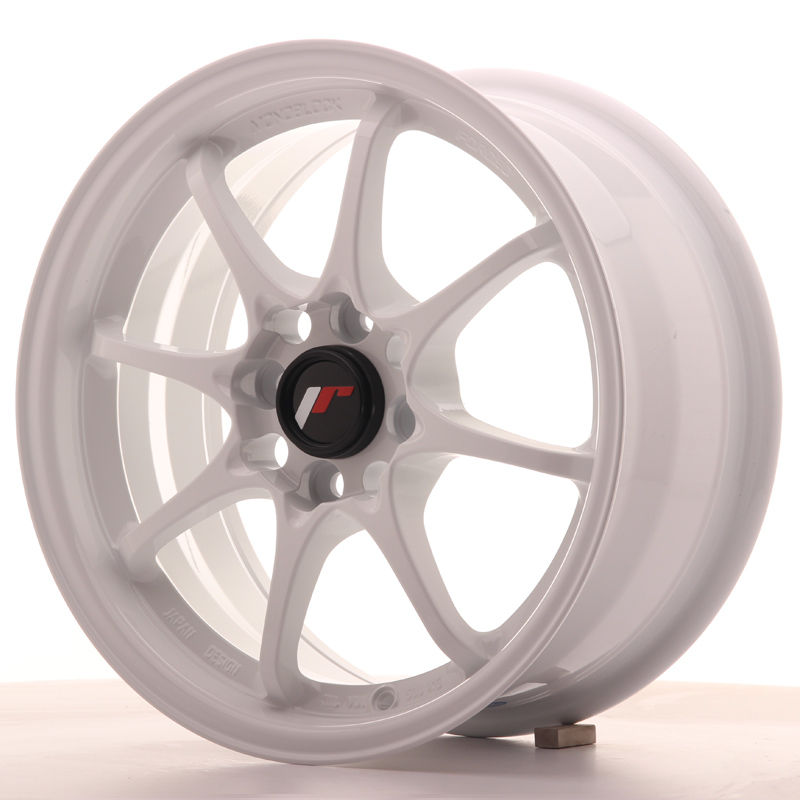 Japan Racing JR Wheels JR5 15x7 ET35 4x100 White