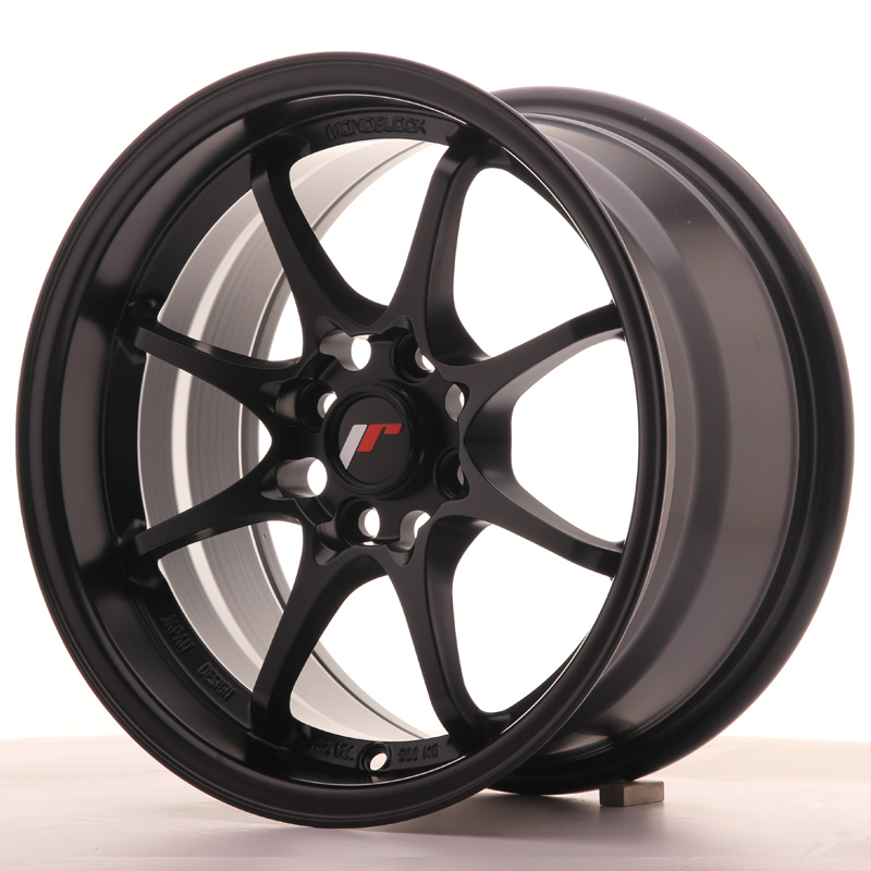 Japan Racing JR Wheels JR5 15x8 ET28 4x100 Black
