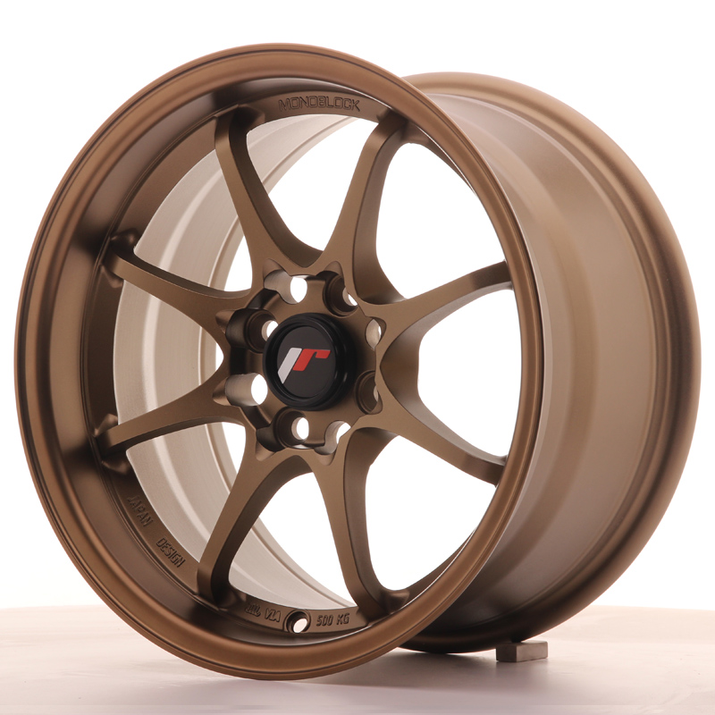 Japan Racing JR Wheels JR5 15x8 ET28 4x100 Bronze