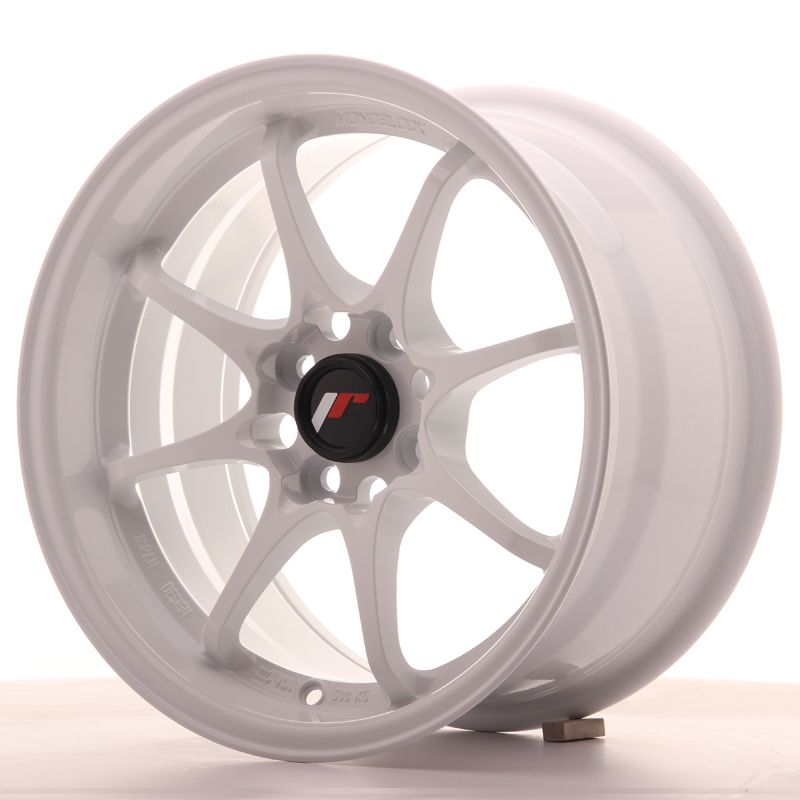 Japan Racing JR Wheels JR5 15x8 ET28 4x100 White
