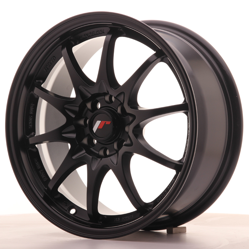 Japan Racing JR Wheels JR5 16x7 ET30 4x100 4x108 Black