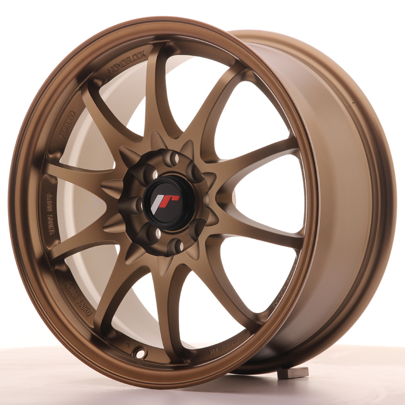 Japan Racing JR Wheels JR5 16x7 ET30 4x100 4x108 Bronze