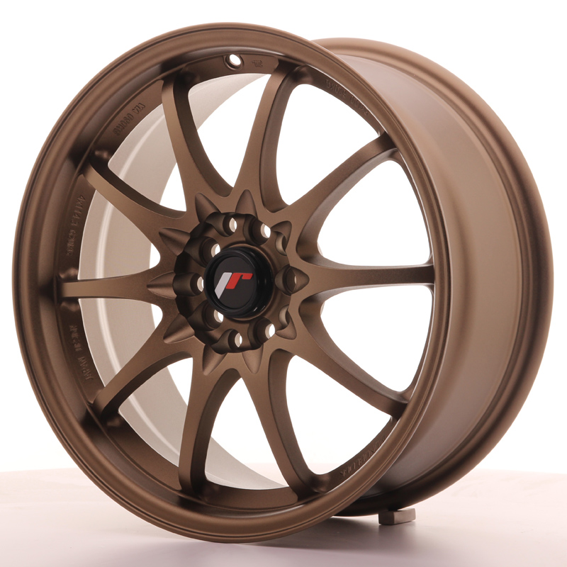 Japan Racing JR Wheels JR5 17x7.5 ET35 4x100 4x114.3 Bronze