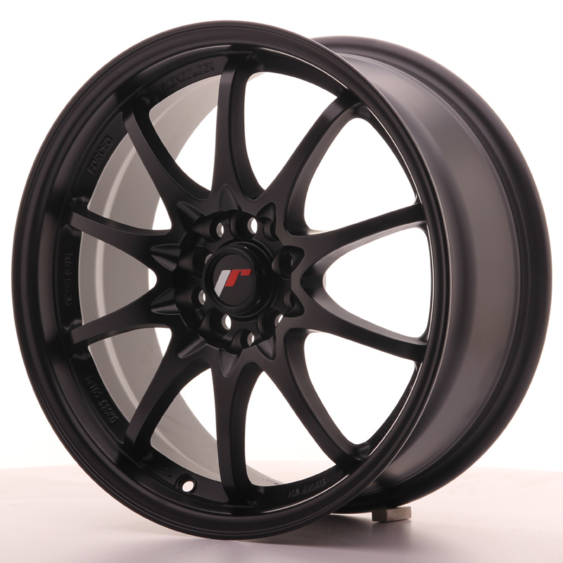 Japan Racing JR Wheels JR5 17x7.5 ET35 5x100 5x114.3 Black