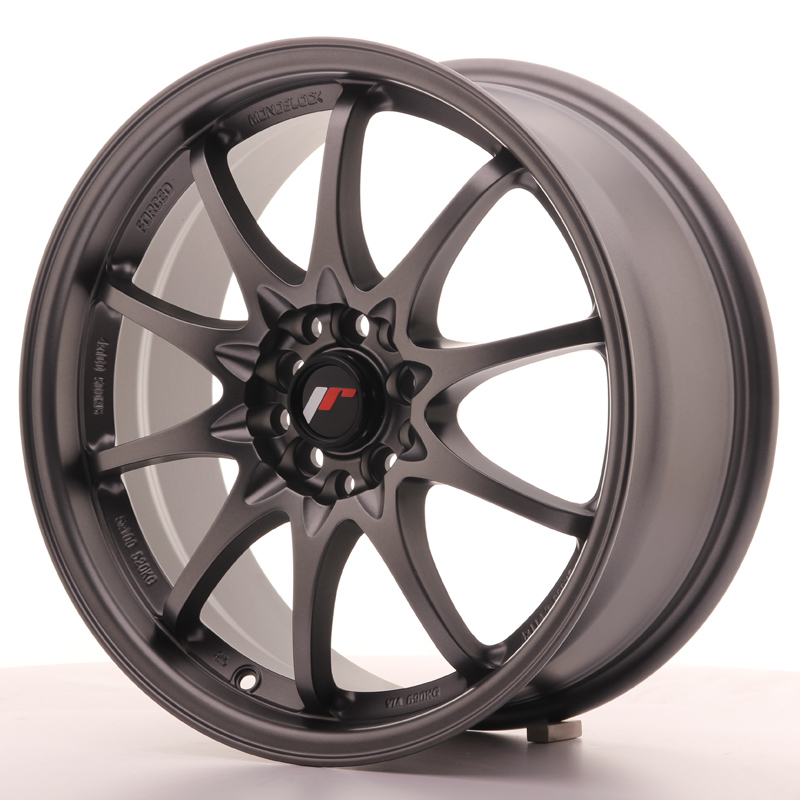 Japan Racing JR Wheels JR5 17x7.5 ET35 5x114.3 5x100 Gun metal