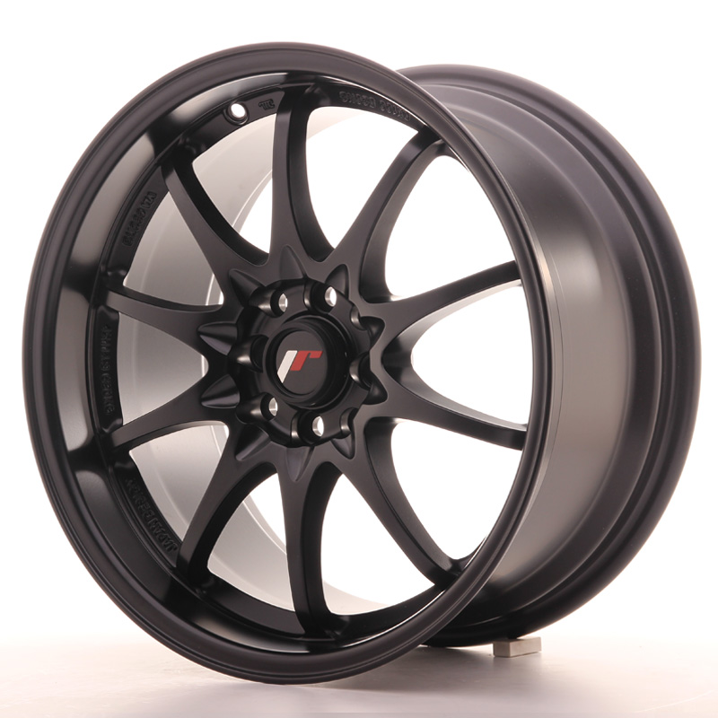 Japan Racing JR Wheels JR5 17x8.5 ET35 4x114.3 4x100 Black