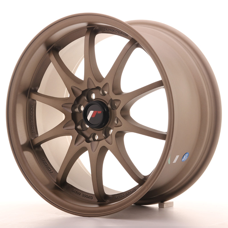 Japan Racing JR Wheels JR5 17x8.5 ET35 4x100 4x114.3 Bronze