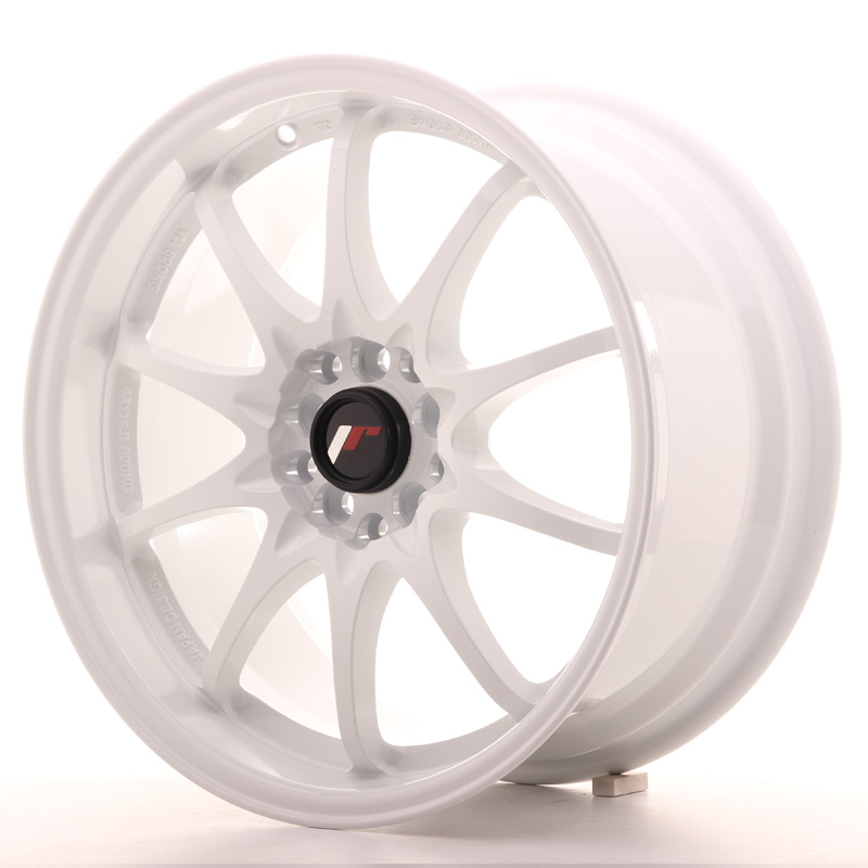 Japan Racing JR Wheels JR5 17x8.5 ET35 4x100 4x114.3 White