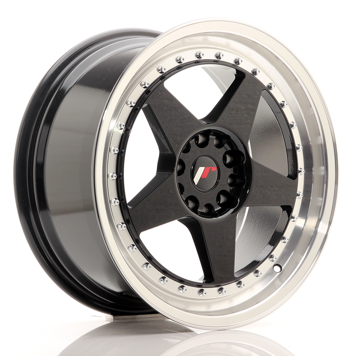 Japan Racing JR Wheels JR6 18x8.5 ET22 5x114.3 5x120 Black