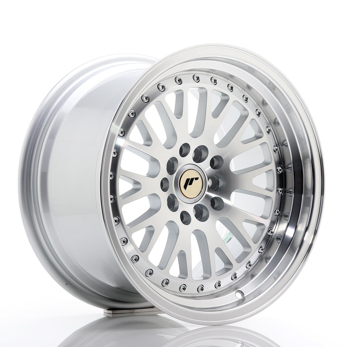 Japan Racing JR Wheels JR10 16x9 ET20 5x100 5x114.3 Silver ...
