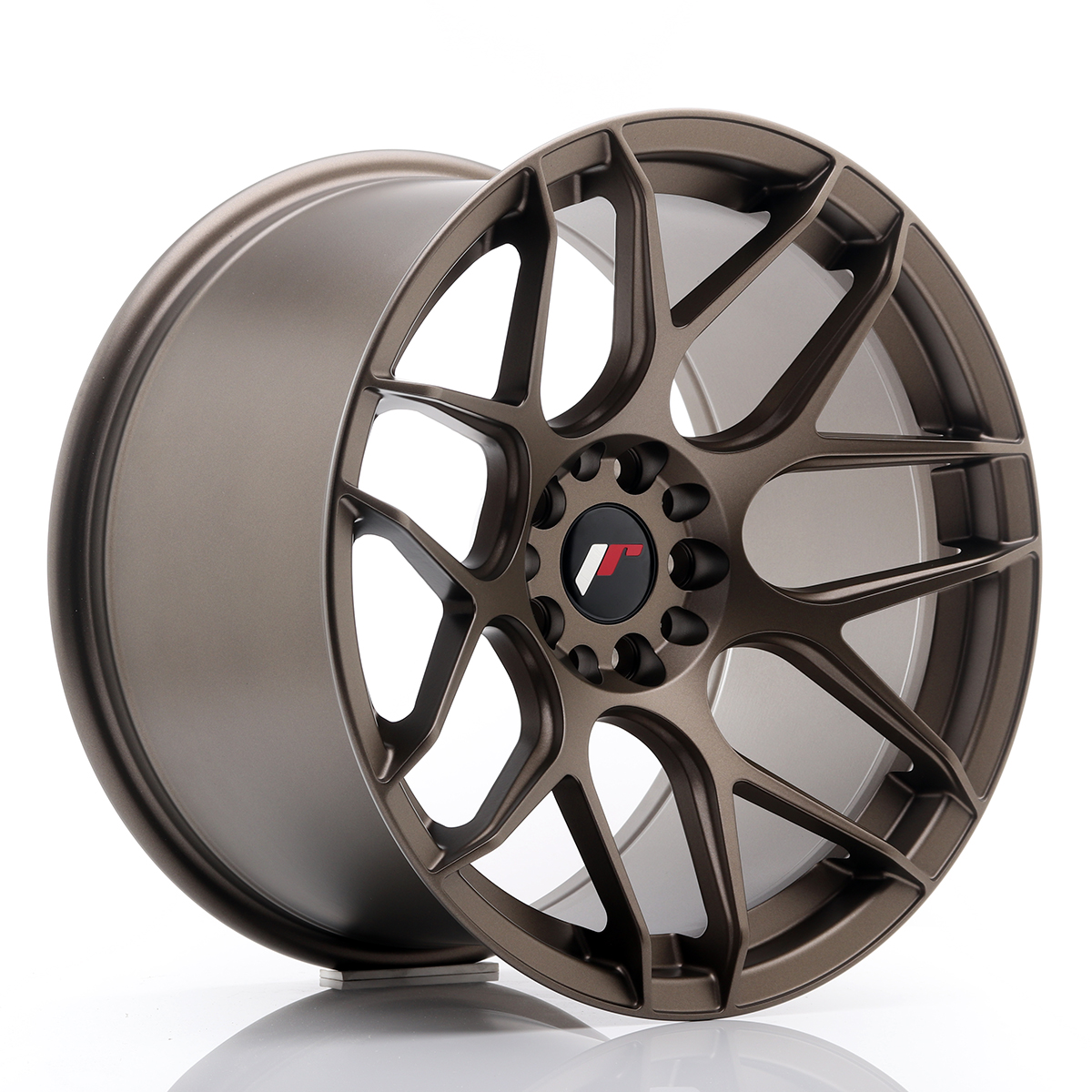 Japan Racing JR Wheels JR18 18x10.5 ET22 5x120 5x114.3 Bronze