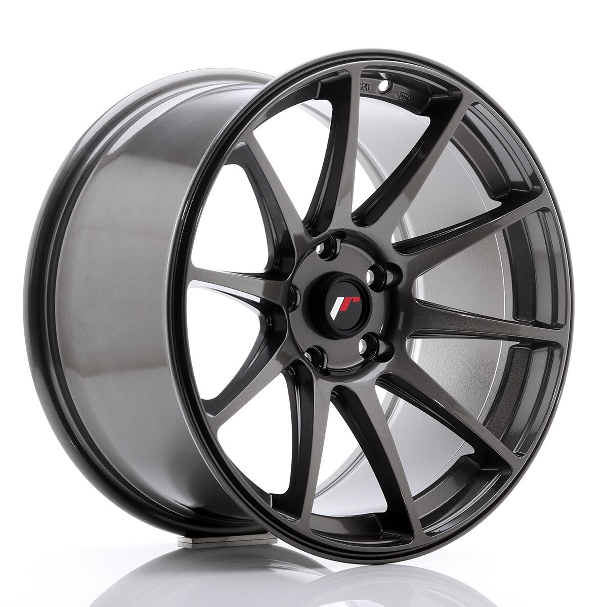 Japan Racing JR Wheels JR11 18x9.5 ET22 5x120 5x114.3 Hyper Gray