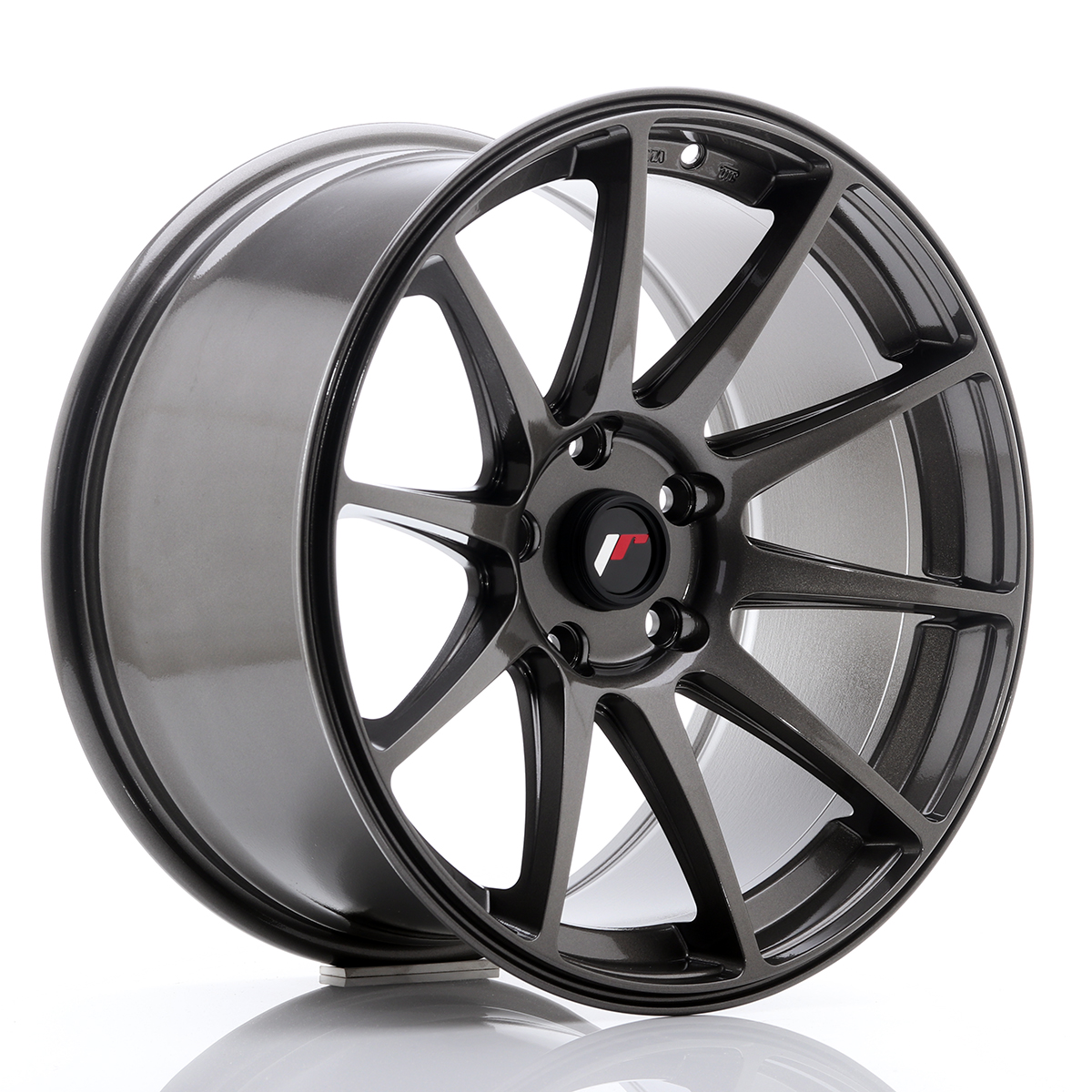 Japan Racing JR Wheels JR11 18x9.5 ET30 5x114.3 5x112 Hyper Gray