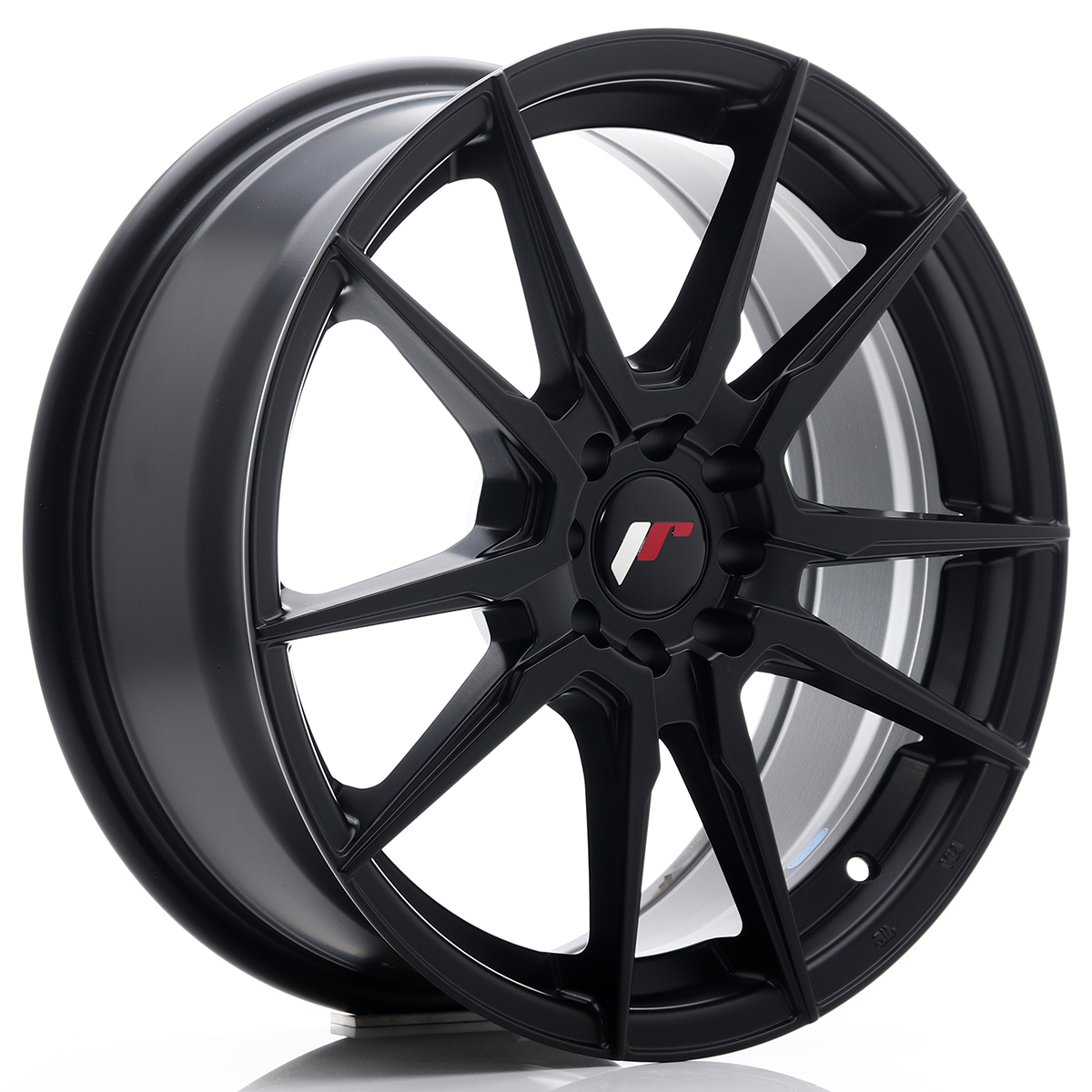 Japan Racing JR Wheels JR21 17x7 ET40 5x108 5x112 Black