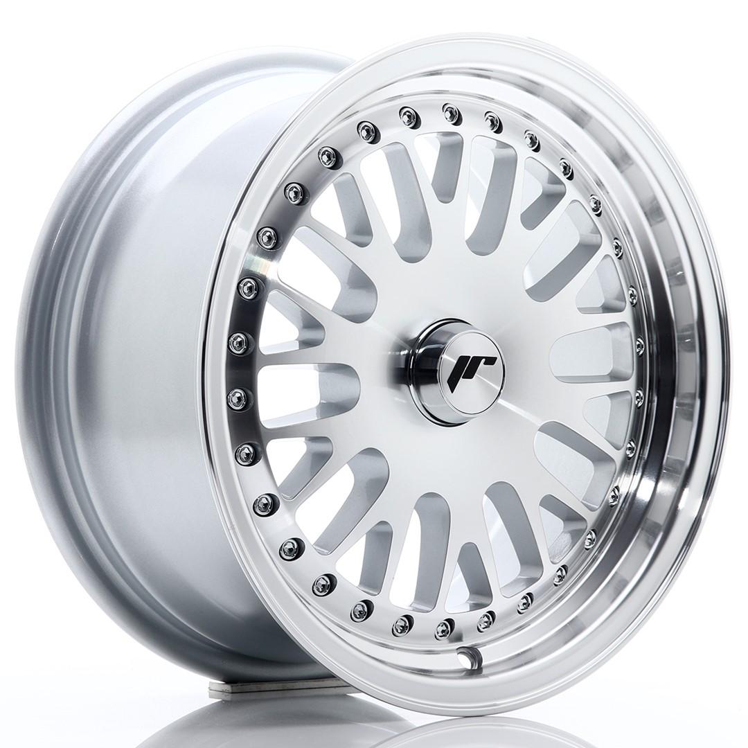 Japan Racing JR Wheels JR10 15x7 ET30 CUSTOM PCD Silver