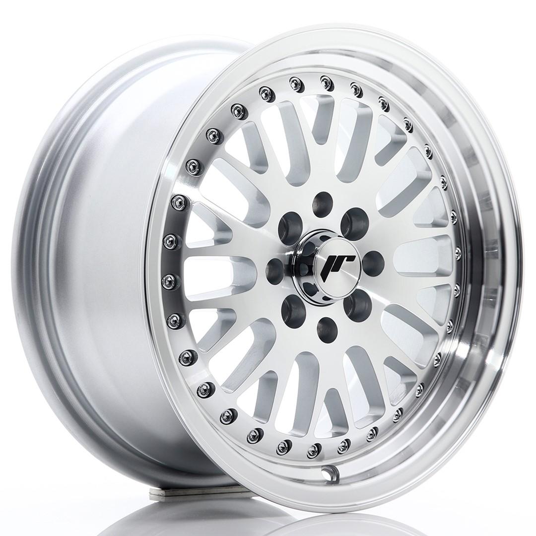 Japan Racing JR Wheels JR10 15x7 ET30 4x100. 4x108 Silver