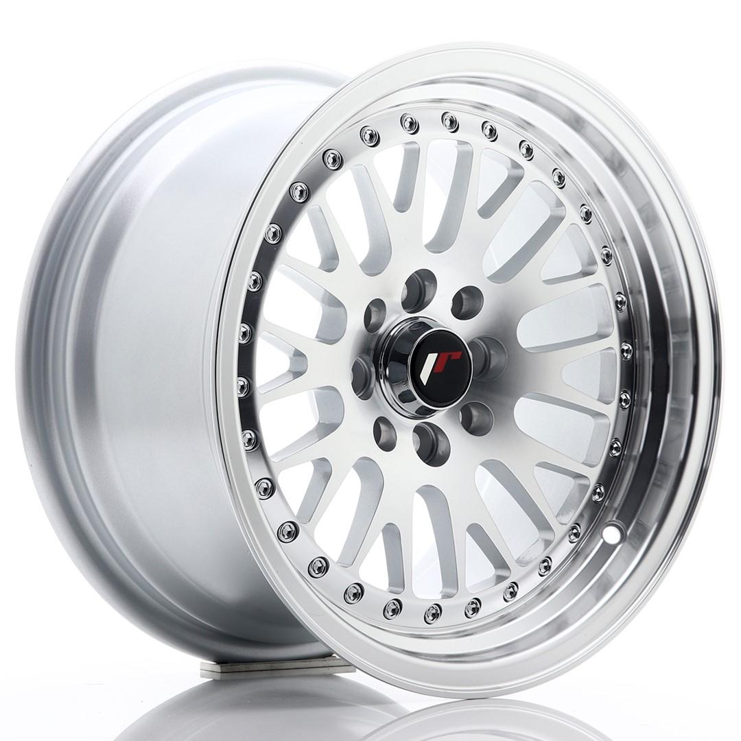 Japan Racing JR Wheels JR10 15x8 ET20 4x100. 4x108 Silver