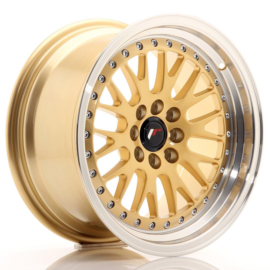 Japan Racing JR Wheels JR10 16x8 ET20 4x100. 4x108 Gold