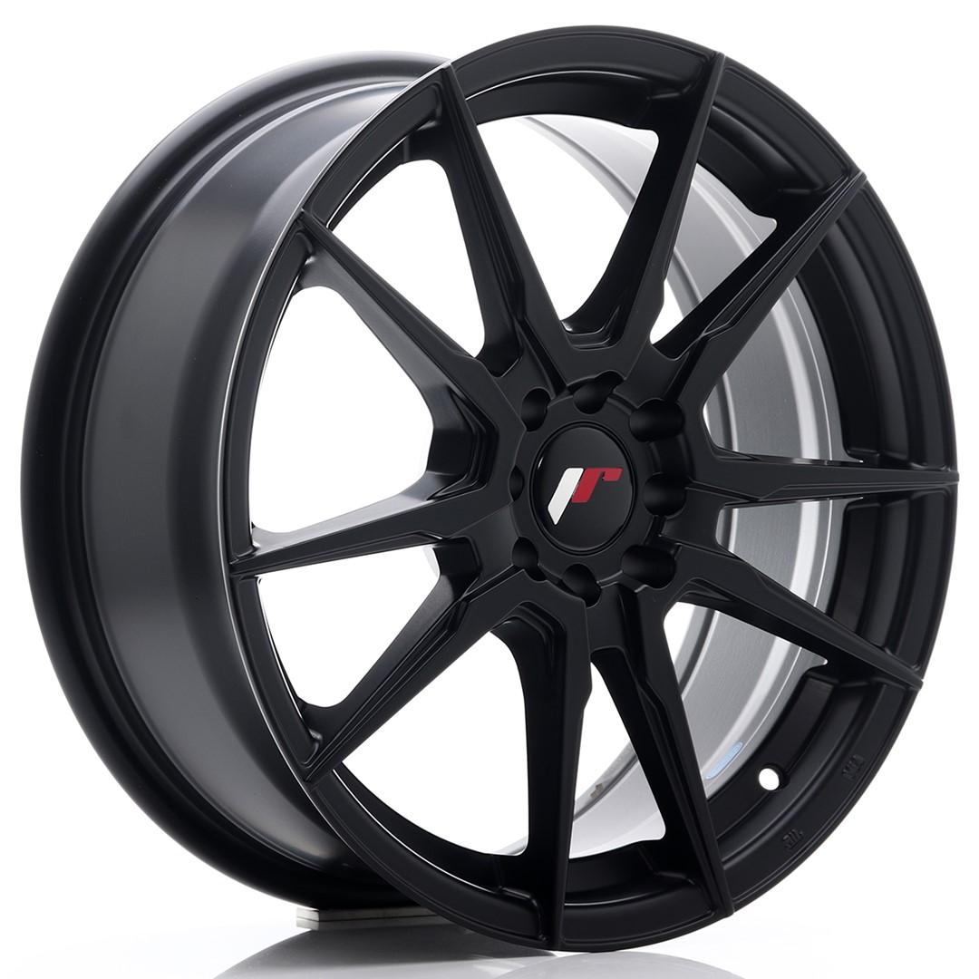 Japan Racing JR Wheels JR21 17x7 ET40 5x108 5x112 Black