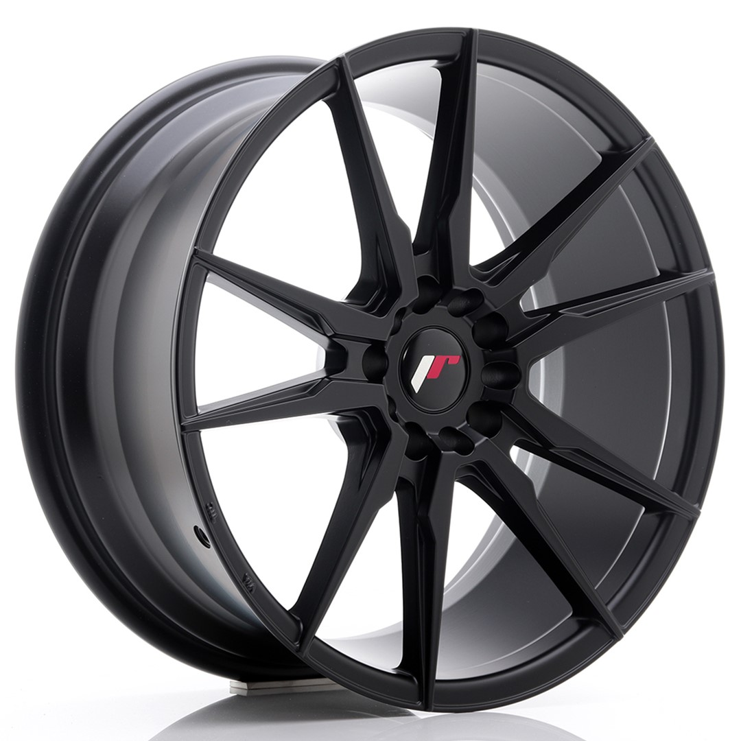Japan Racing JR Wheels JR21 19x8.5 ET20 5x114.3 5x120 Black