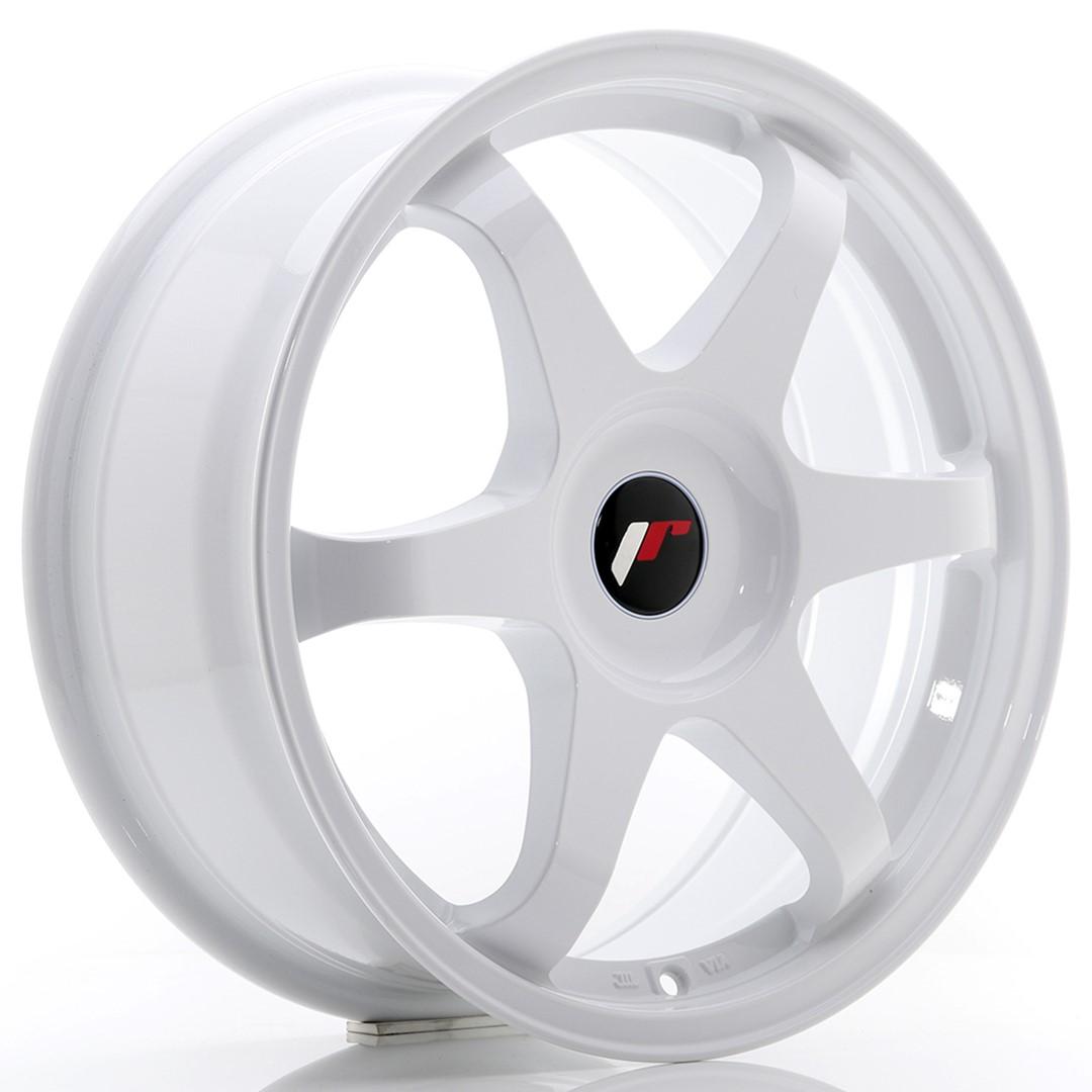 Japan Racing JR Wheels JR3 17x7 ET35-42 CUSTOM PCD White