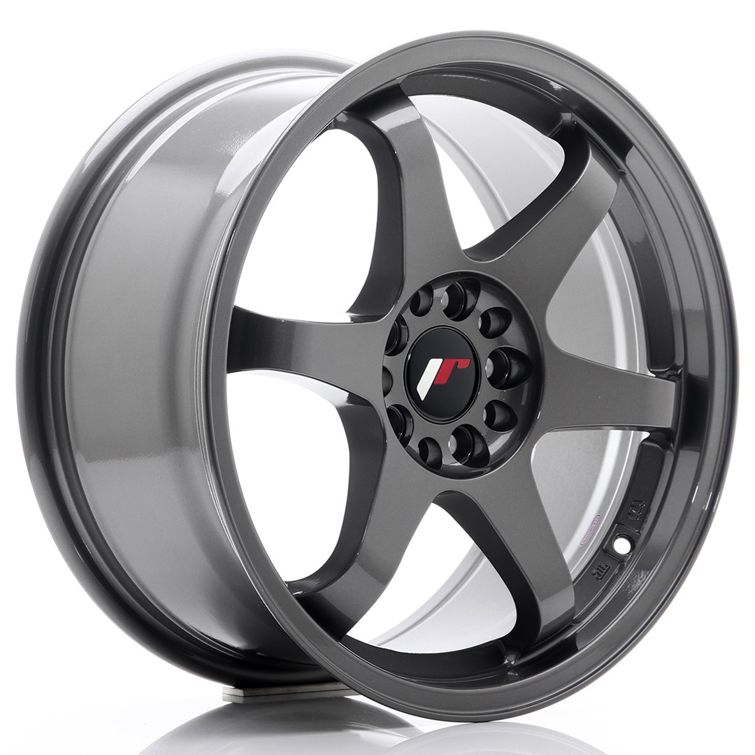 Japan Racing JR Wheels JR3 17x8 ET25 4x100 4x108 Gun metal