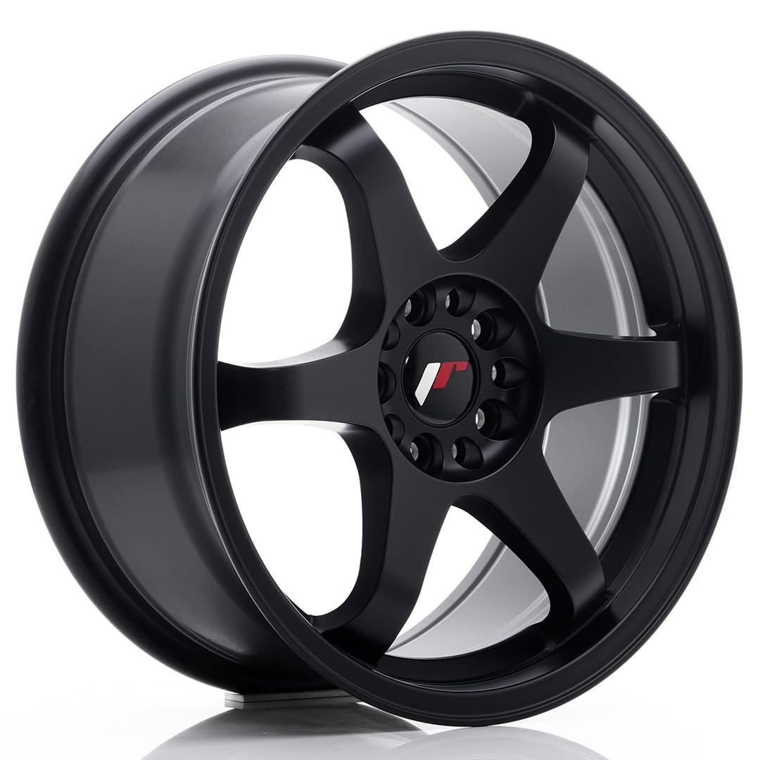 Japan Racing JR Wheels JR3 17x8 ET35 5x108 5x112 Black