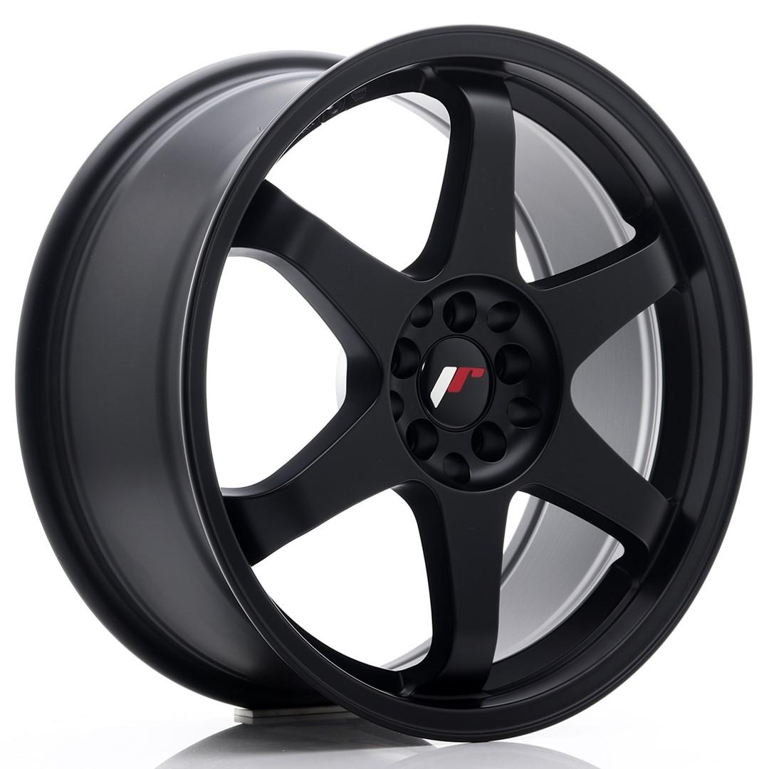 Japan Racing JR Wheels JR3 18x8 ET35 5x100 5x120 Black