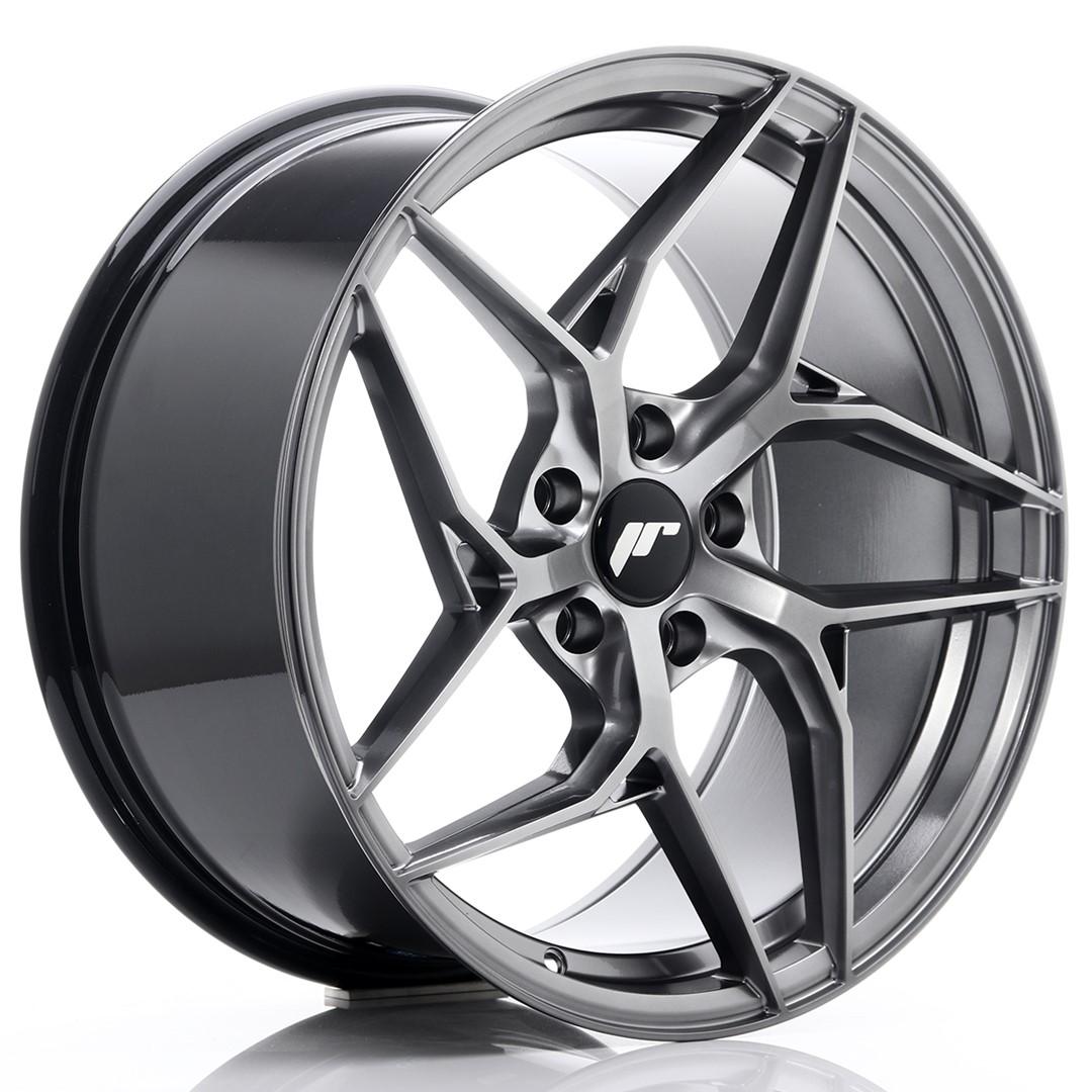 Japan Racing JR Wheels JR35 19x9.5 ET35 5x120 Hiper Black