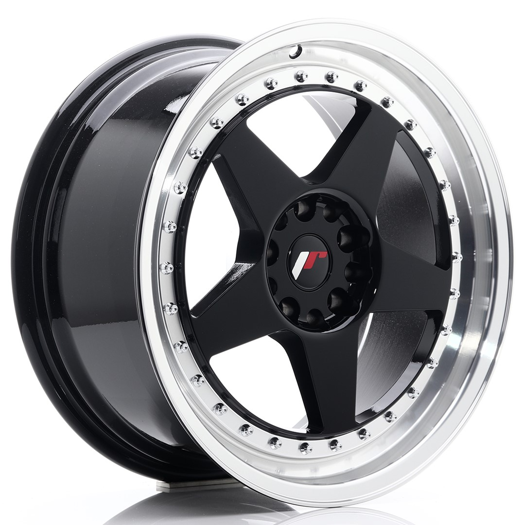 Japan Racing JR Wheels JR6 18x8.5 ET22 5x114.3 5x120 Black