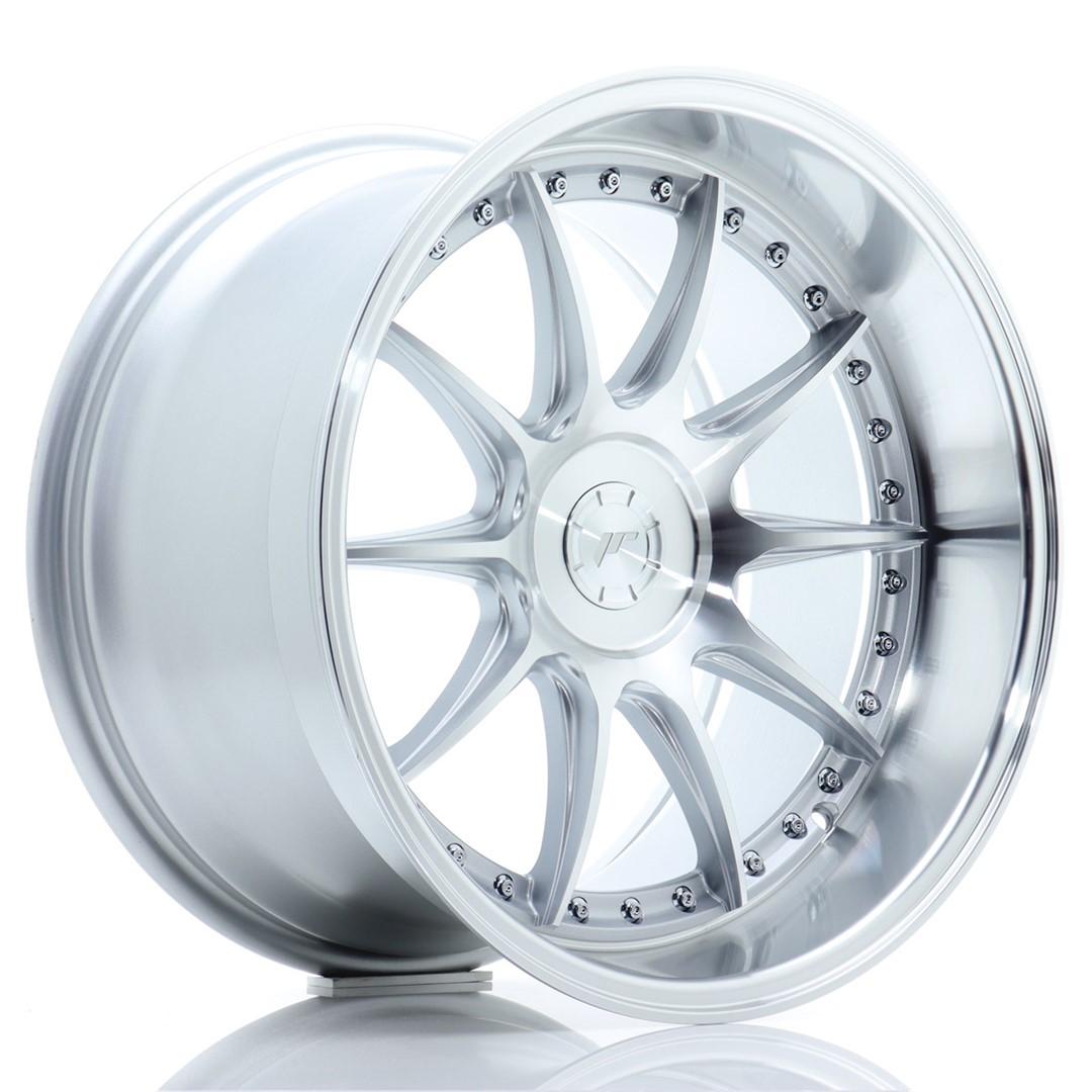 Japan Racing JR Wheels JR41 18x10.5 ET15-25 CUSTOM PCD Silver