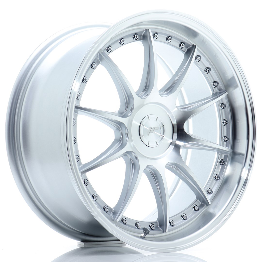 Japan Racing JR Wheels JR41 18x8.5 ET15-35 CUSTOM PCD Silver
